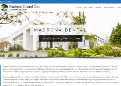 MadronaDental.com