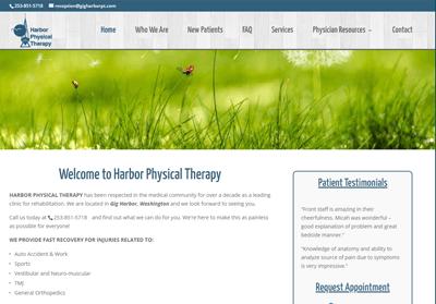 gig harbor physical therapy washington